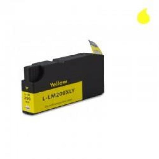 14L0200-Y CARTUCHO GENERICO LEXMARK AMARILLO (N 200XLY) 32ML