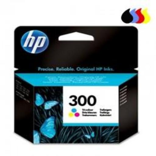 CC643EE CARTUCHO ORIGINAL HP COLOR (N 300) 165 PAG.