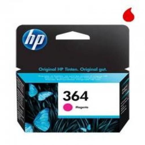CB319EE CARTUCHO ORIGINAL HP MAGENTA (N 364) 300 PAG.
