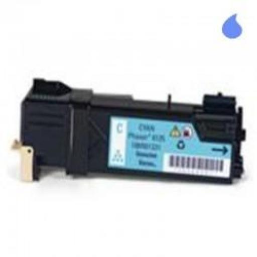 PHASER 6125C TONER GENERICO XEROX CYAN (106R01331) 1.000 PAG.