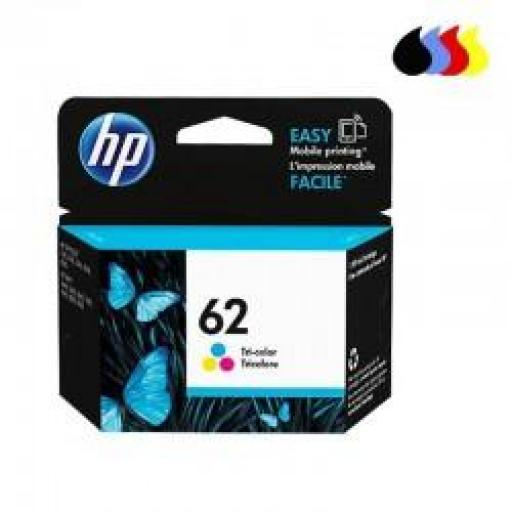 C2P06AE CARTUCHO ORIGINAL HP COLOR (N 62) 165PAG
