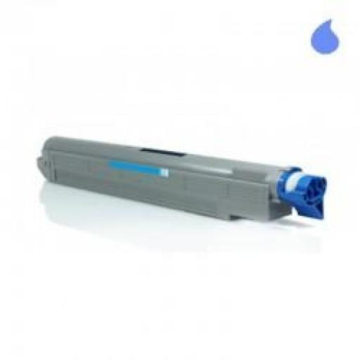 PHASER 6250C TONER GENERICO XEROX CYAN (106R00672) 8000 PAG.