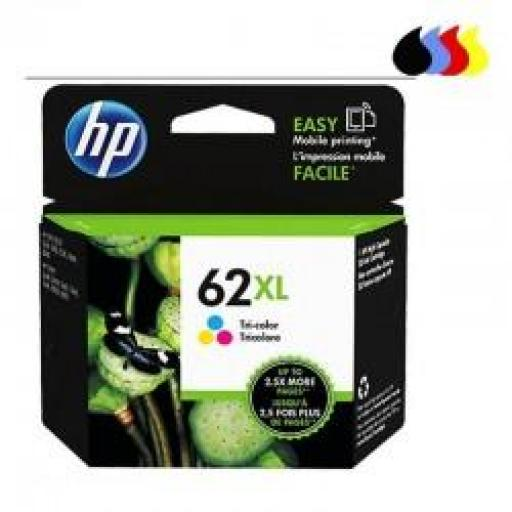 C2P07AE CARTUCHO ORIGINAL HP COLOR (N 62XL) 415PAG