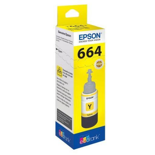 EPSON BOTELLA INYECCION AMARILLO T6644 70ML (WE) C13T664440