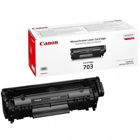 Toner Original CANON CRG703 Negro - 7616A005