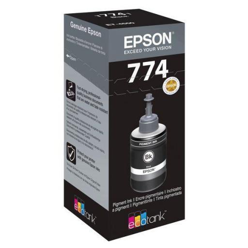 EPSON TINTA BOTELLA NEGRO T7741 C13T774140