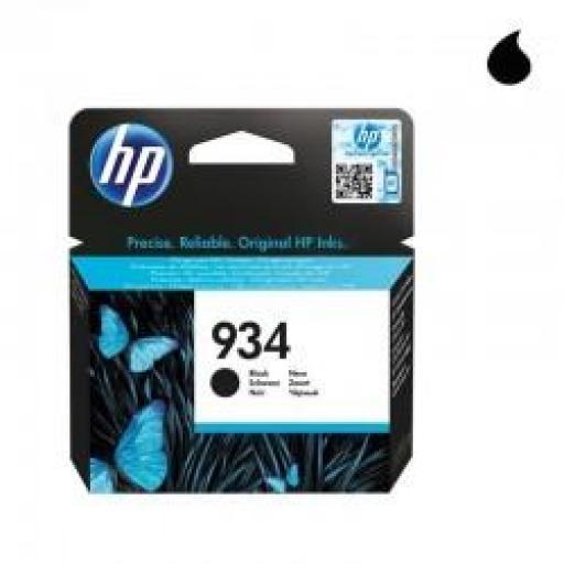 C2P19AE CARTUCHO ORIGINAL HP NEGRO (N 934) 400 PAG.