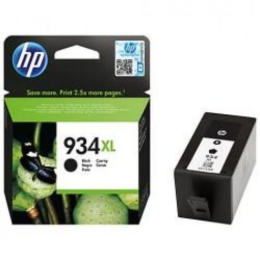 C2P23AE CARTUCHO ORIGINAL HP NEGRO (N 934XL) 1.000 PAG.