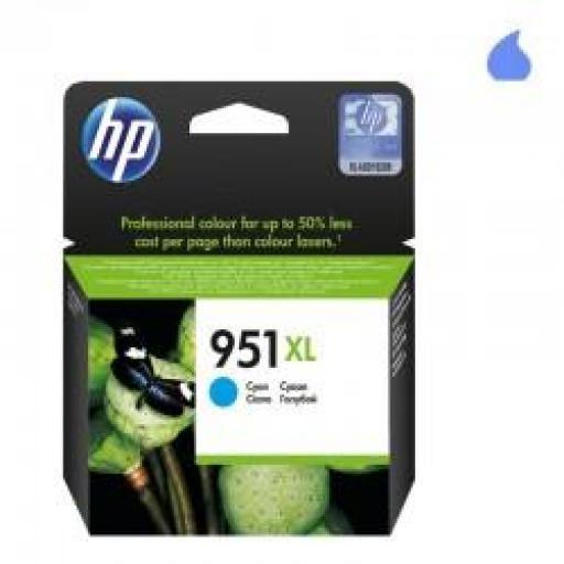 CN046AE CARTUCHO ORIGINAL HP CYAN (N 951XL) 1.500 PAG