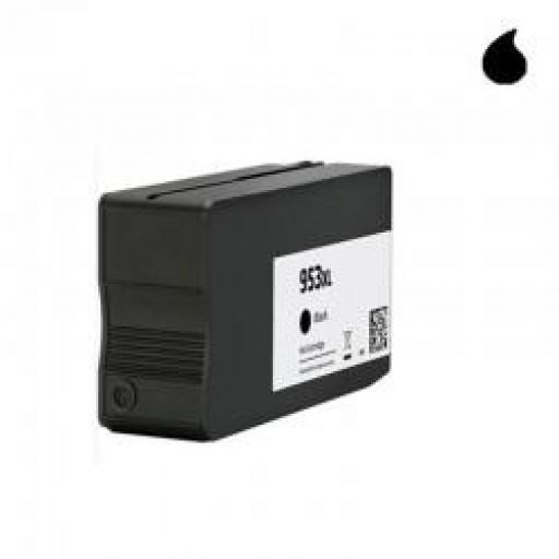 L0S70AE CARTUCHO GENERICO COMPATIBLE CON HP NEGRO (N 953XLBK) 56ML