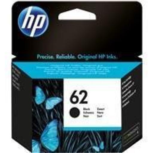 HP Nº62 (C2P04AE) CARTUCHO ORIGINAL HP NEGRO