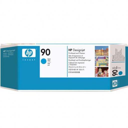 HP 90 Cyan Cabezal de Impresion Limpiador - C5055A