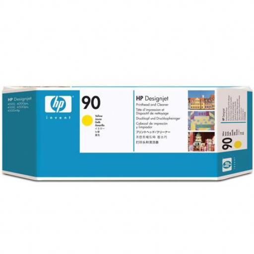 HP 90 Amarillo Cabezal de Impresion Limpiador  - C5057A
