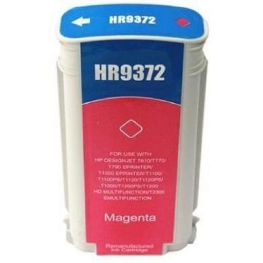 HP 72 Magenta Cartucho de Tinta Generico - Reemplaza C9372A 130 ml