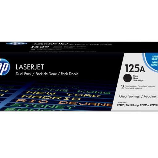 HP Toner Laser 125A Negro CB540A