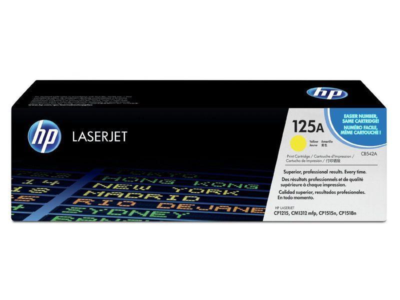HEWLETT PACKARD Toner Laser 125A Amarillo 1.400pg CB542A