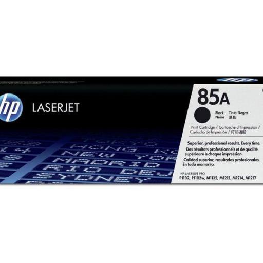 HP Toner Laser 85A Negro CE285A  [0]
