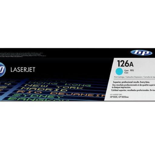 HP Toner Laser 126A Cyan CE311A