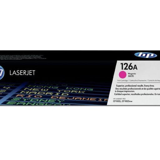HP Toner Laser 126A Magenta CE313A