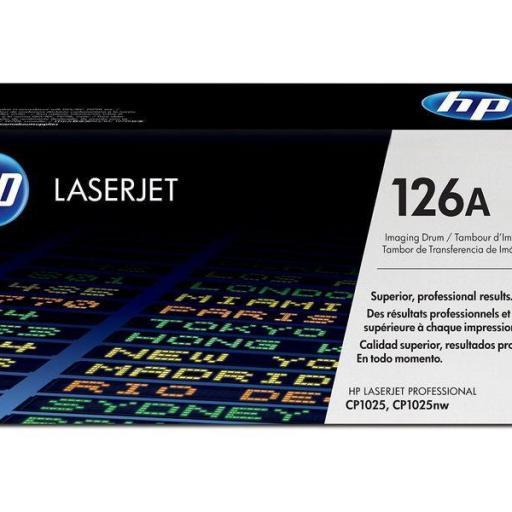 HP Tambor Láser 126A Color 14.000 páginas CE314A