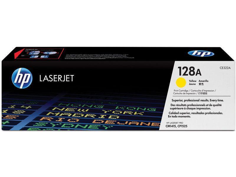 HP Toner Laser 128A Amarillo CE322A