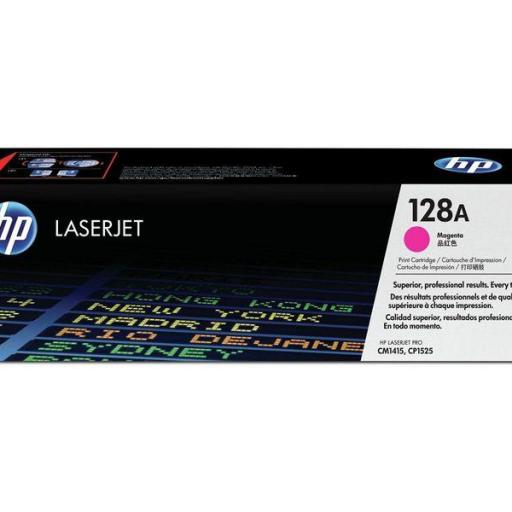 HP Toner Laser 128A Magenta CE323A