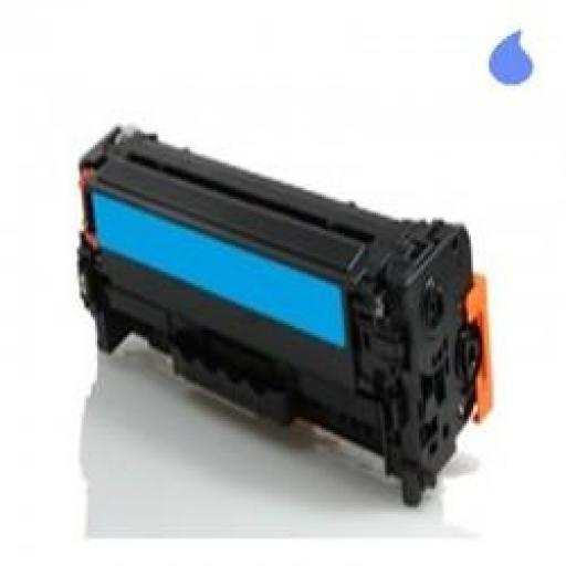 CE411A TONER GENERICO HP CYAN (N 305A) 2.600 PAG.