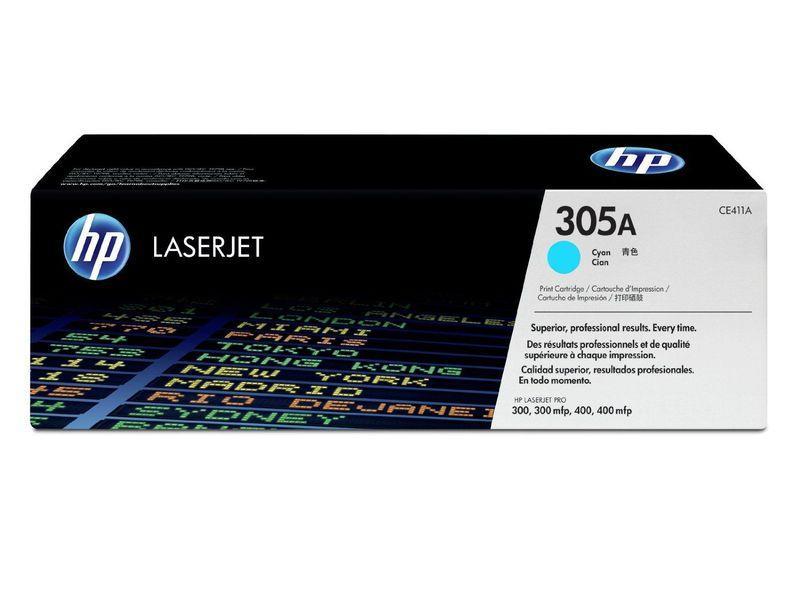 HP Toner Laser 305A Cyan CE411A