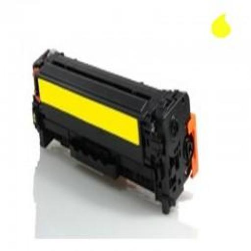 CE412A TONER GENERICO HP AMARILLO (N 305A) 2.600 PAG.