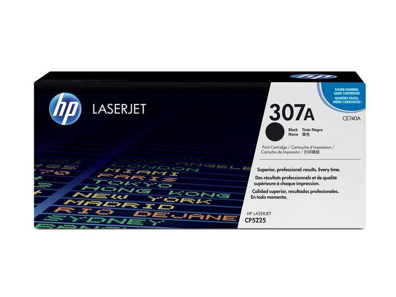 HP Toner Laser 307A Negro CE740A