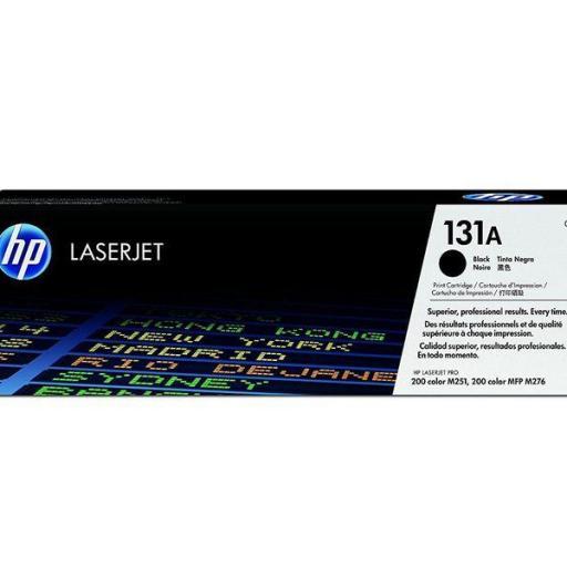 HP TONER LASER 131A NEGRO 1600PG CF210A