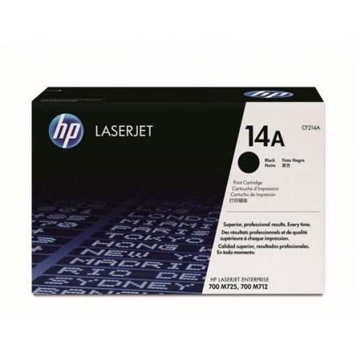 HP Toner Laser 14A Negro 10.000pg CF214A