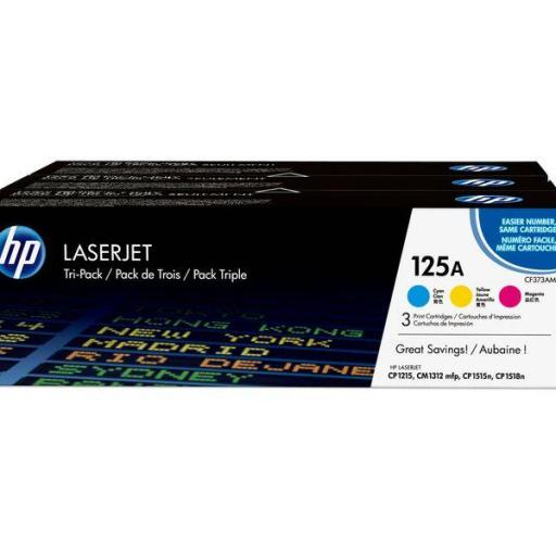 HP Toner Laser 125A Tricolor pack 3 CF373AM