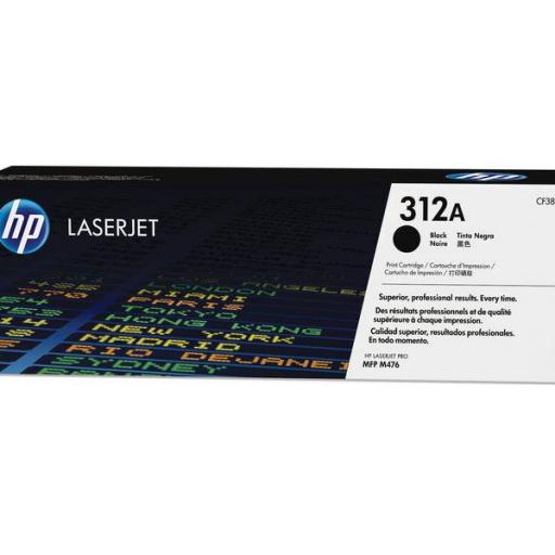 HP Toner Laserjet 312A negro