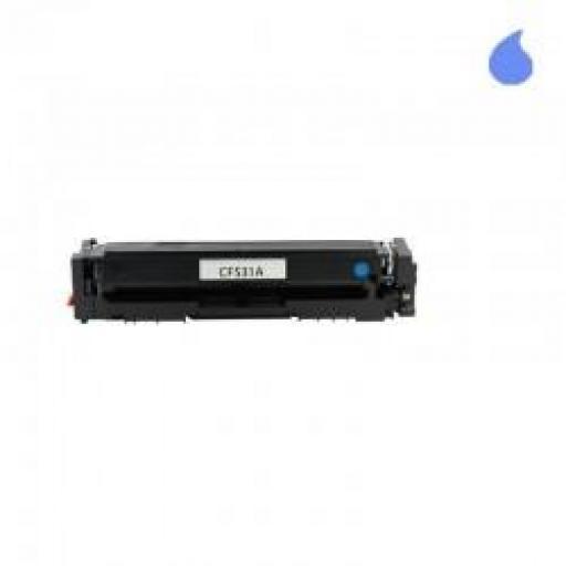 CF531A / 205A TONER GENERICO COMPATIBLE CON HP CYAN 900 PAG.