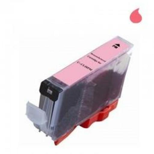 CLI-8PHM CARTUCHO GENERICO COMPATIBLE CON CANON PHOTO MAGENTA (CLI8PHM) 'CON CHIP' 14 ML