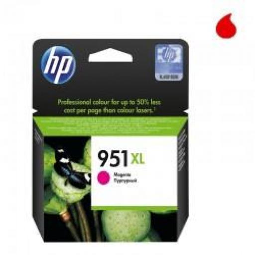 CN047AE CARTUCHO ORIGINAL HP MAGENTA (N 951XL) 1.500 P