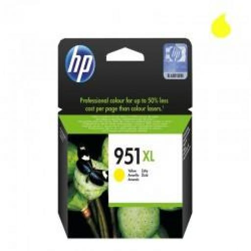 CN048AE CARTUCHO ORIGINAL HP AMARILLO (N 951XL) 1.500 PAG.