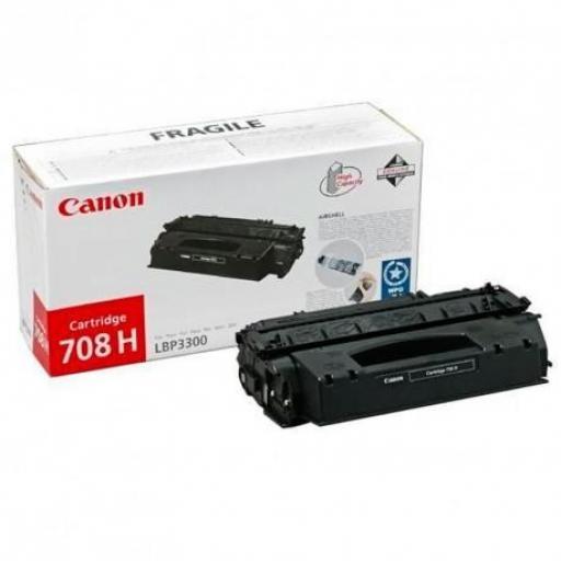 Canon 708h (0917B002) Tóner negro TONER NUEVOS MINISTERIOS