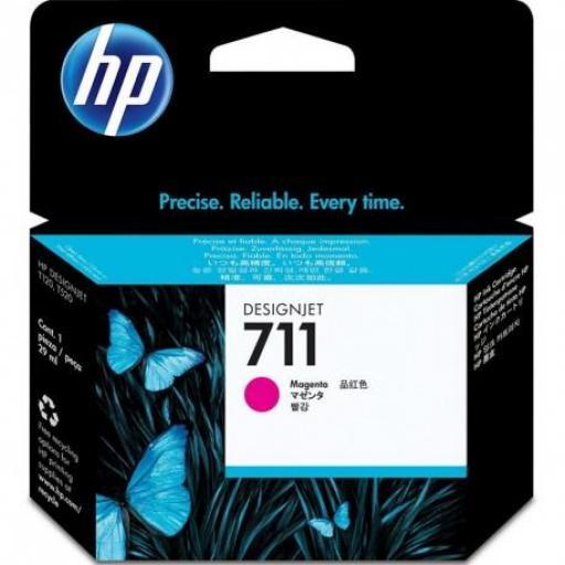 Cartucho Original HP 711 Magenta - CZ131A 29 ml