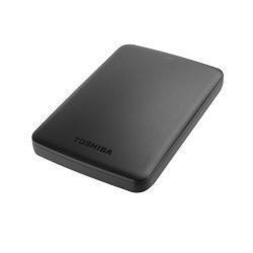 """TOSHIBA DISCO DURO EXTERNO CANVIO BASICS 2,5"""" 1TB USB 3.0 (COMPATIBLE CON USB 2.0) COLOR NEGRO"""