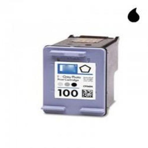 C9368AE CARTUCHO RECICLADO HP NEGRO (N 100) 3X6 ML