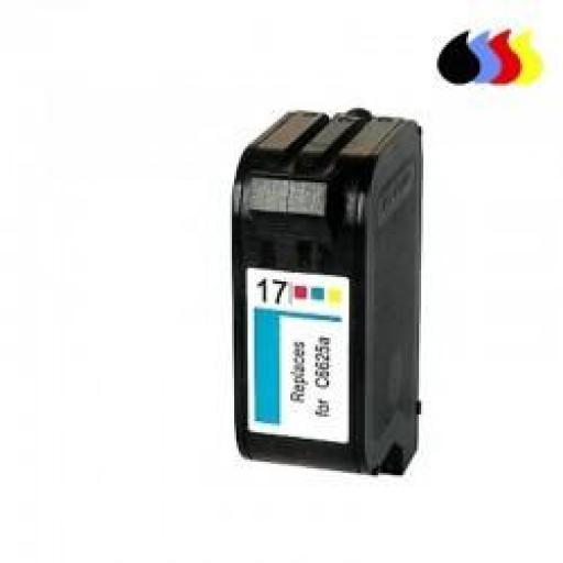 C6625A CARTUCHO RECICLADO COMPATIBLE CON HP COLOR (N 17) 3X10 ML