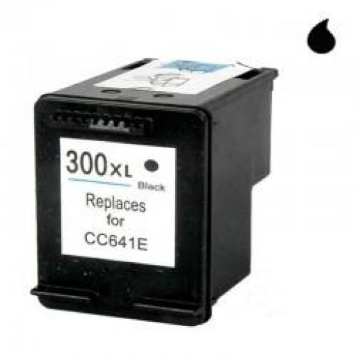 CC641EE CARTUCHO RECICLADO COMPATIBLE CON HP NEGRO (N 300XLBK) 19 ML