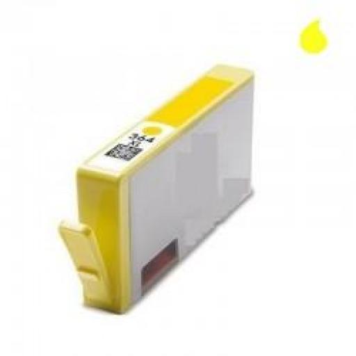 CB325EE CARTUCHO GENERICO COMPATIBLE CON HP AMARILLO (N 364XLY) 750 PAG.