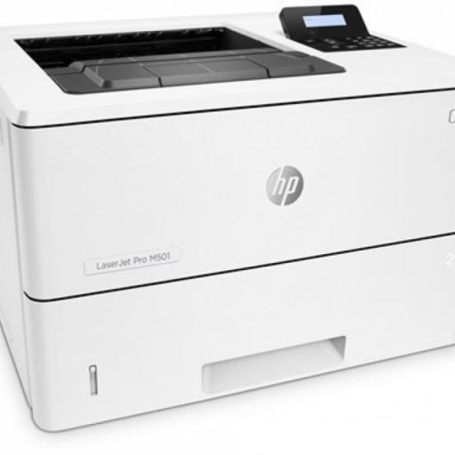 Impresora HP LaserJet Pro M501DN Laser Monocromo 45ppm - Doble Cara/Duplex - Red - USB 2.0 (Toner CF287A/CF287X)