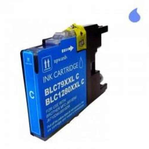 LC-1280XL/LC-1240/LC-1220C CARTUCHO GENERICO COMPATIBLE CON BROTHER CYAN 19 ML