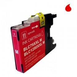 LC-1280XL/LC-1240/LC-1220M CARTUCHO GENERICO COMPATIBLE CON BROTHER MAGENTA 19 ML