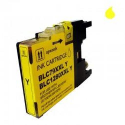 LC-1280XL/LC-1240/LC-1220Y CARTUCHO GENERICO COMPATIBLE CON BROTHER AMARILLO 19 ML
