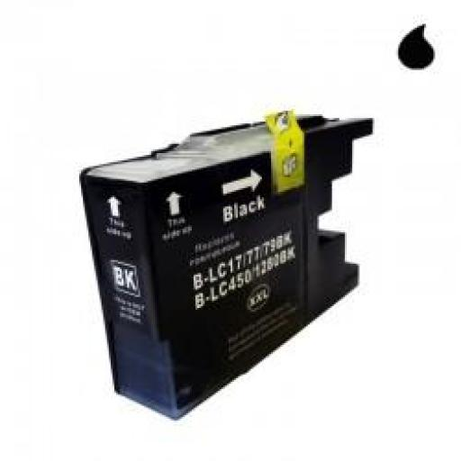 LC-1280XL/LC-1240/LC-1220BK CARTUCHO GENERICO COMPATIBLE CON BROTHER NEGRO 30 ML [0]